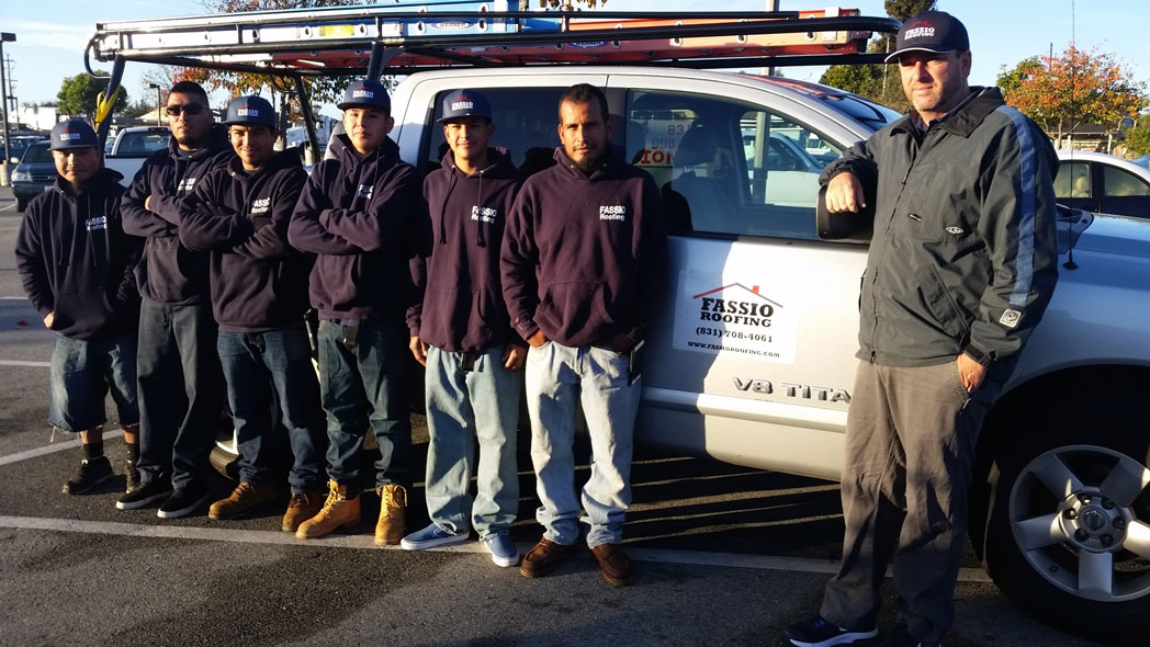 Fassio Roofing Crew