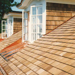 roof systems-fire treated wood shingles